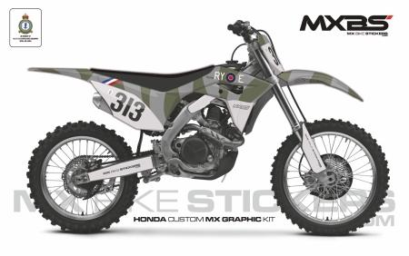 Design 161 - Honda CRF R 450  2017 - 2020, Honda CRF R 250  2018 - 2021