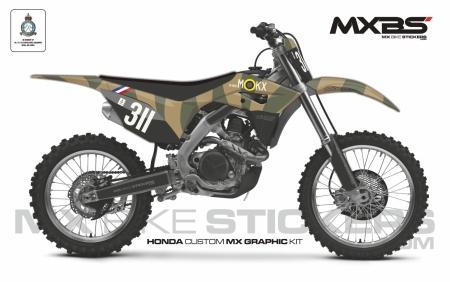 Design 162 - Honda CRF R 450  2017 - 2020, Honda CRF R 250  2018 - 2021