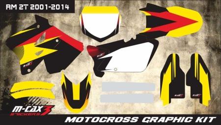 Design 20 - Suzuki RM 125  2001 - 2012, Suzuki RM 250  2001 - 2012