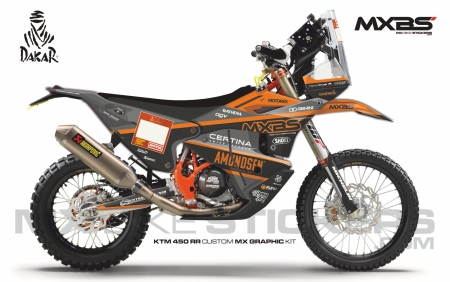 Design 193 - KTM RALLY REPLICA 450  2019 - 2021, Husqvarna RALLY 450  2019 - 2021