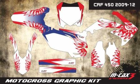 Design 12 - Honda CRF R 450  2009 - 2012, Honda CRF R 250  2010 - 2013