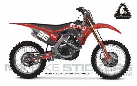 Design 130 - Honda CRF R 450  2017 - 2019, Honda CRF R 250  2018 - 2019