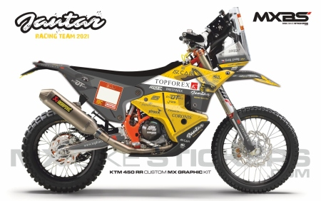 Design 191 - KTM RALLY REPLICA 450  2019 - 2021, Husqvarna RALLY 450  2019 - 2021