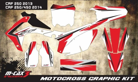 Design 9 - Honda CRF R 250  2014 - 2017