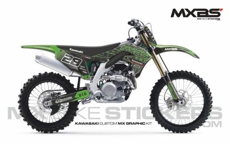 Design 188 - Kawasaki KXF 450  2019 - 2021