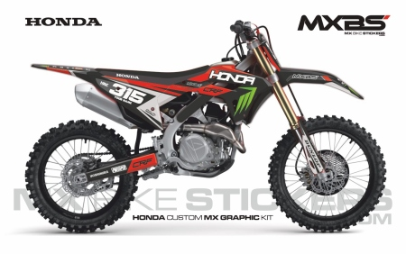 Design 250 - Honda CRF R 450  2021 - 2021