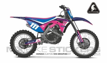 Design 98 - Honda CRF R 450  2017 - 2019, Honda CRF R 250  2018 - 2019