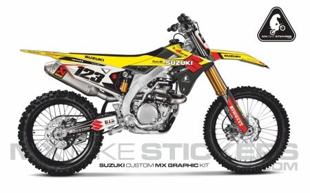 Design 109 - Suzuki RMZ 450  2018 - 2019