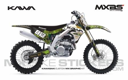 Design 254 - Kawasaki KXF 450  2019 - 2022