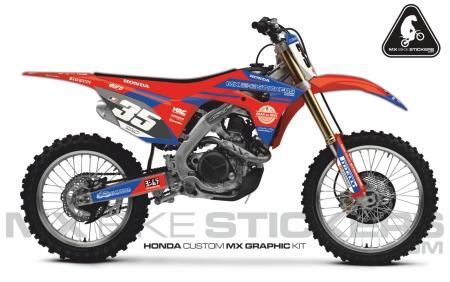 Design 62 - Honda CRF R 450  2017 - 2019, Honda CRF R 250  2018 - 2019
