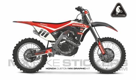 Design 105 - Honda CRF R 450  2017 - 2019, Honda CRF R 250  2018 - 2019