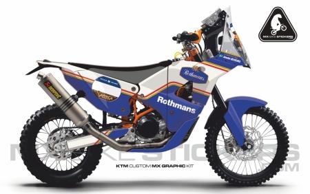 Design 115 - KTM RALLY REPLICA 450  2016 - 2018