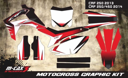 Design 10 - Honda CRF R 450  2009 - 2012, Honda CRF R 250  2010 - 2013