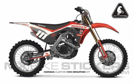 Design 100 - Honda CRF R 450  2017 - 2019, Honda CRF R 250  2018 - 2019