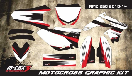 Design 23 - Suzuki RMZ 250  2010 - 2015