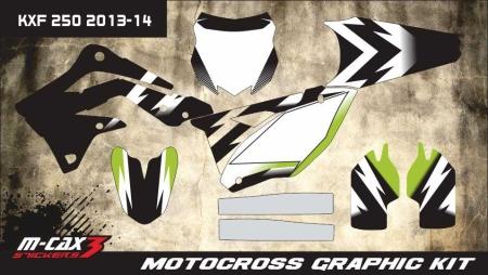 Design 5 - Kawasaki KXF 250  2013 - 2016