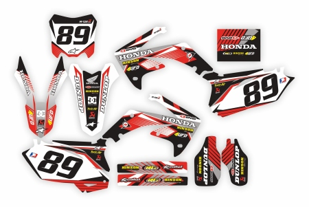Design 137 - Honda CRF R 450  2009 - 2012, Honda CRF R 250  2010 - 2013