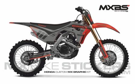 Design 180 - Honda CRF R 450  2017 - 2020, Honda CRF R 250  2018 - 2021