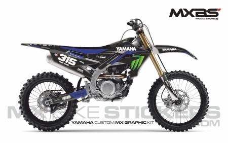 Design 248 - Yamaha YZF 450  2018 - 2022, Yamaha YZ 125  2015 - 2018, Yamaha YZ 250  2015 - 2018